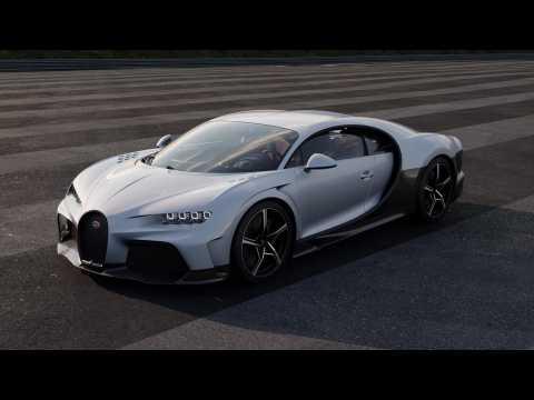 The new Bugatti Chiron Super Sport turntable