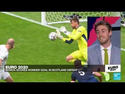 Euro 2021: Brilliant Schick sends returning Scotland to defeat ahead of Spain opener