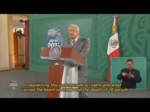Mexico's Lopez Obrador: Opposition using metro accident to sow discord