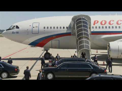 Russian President Vladimir Putin lands in Geneva for summit with Biden