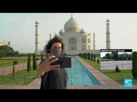 India's famed Taj Mahal re-opens for tourists as Covid-19 curbs ease