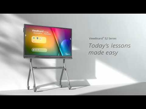 ViewSonic ViewBoard 52 Series Interactive Whiteboard   Today's Lessons Made Easy