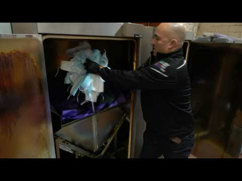 UK hospitals trial PPE recycling to combat mass waste