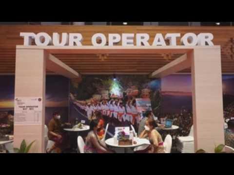 Idyllic island of Bali holds travel fair amid COVID-19 pandemic