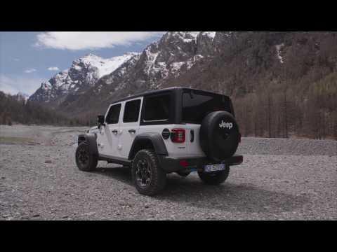 Jeep Wrangler 4xe Rubicon Design Preview