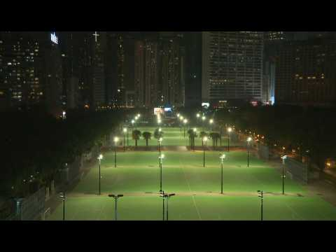 Hong Kong's Victoria Park empty on Tiananmen anniversary for first time in 32 years