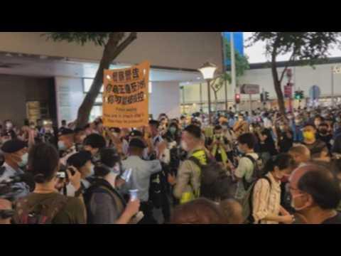 Hong Kongers commemorate 32nd anniversary of Tiananmen massacre despite veto