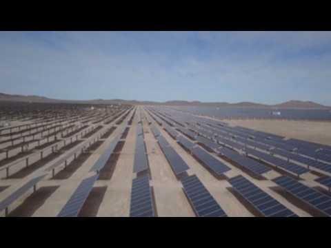 Chile inaugurates Latin Amerca's first thermosolar energy plant in Atacama desert