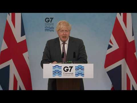 G7 commits to donating globally 1bn Covid-19 vaccine doses (Boris Johnson)