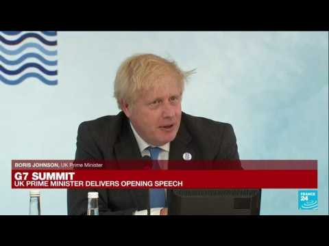 UK PM Johnson says G7 summit is a chance to learn COVID-19 lessons