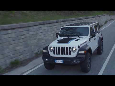 Jeep Wrangler 4xe Rubicon Driving Video