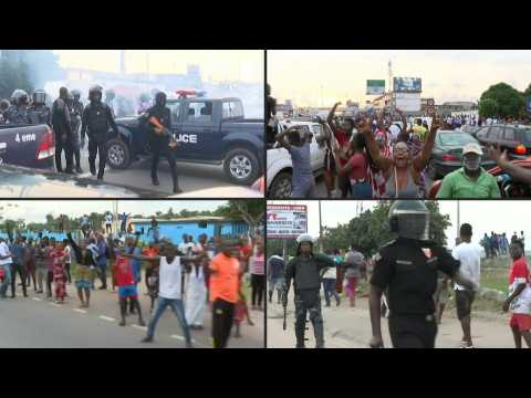 Abidjan celebrates the return of I.Coast's Gbagbo after his acquittal