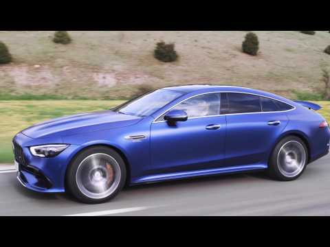 The new Mercedes-AMG GT 53 4MATIC+ Driving Video