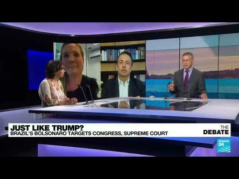 Just like Trump? Brazil's Bolsonaro targets Congress, Supreme Court