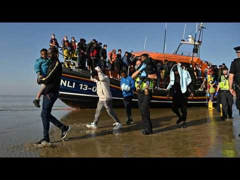Groups of migrants rescued off UK port of Dover