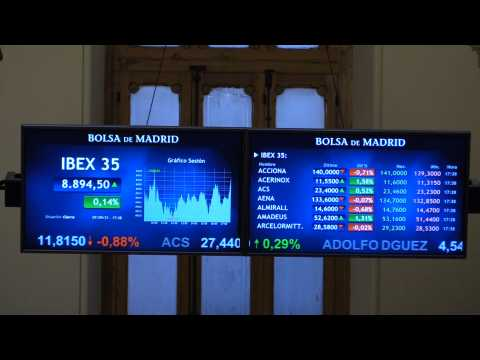 Spain's Ibex 35 rises 0.14% and touches 8,900 points despite decline in Wall Street