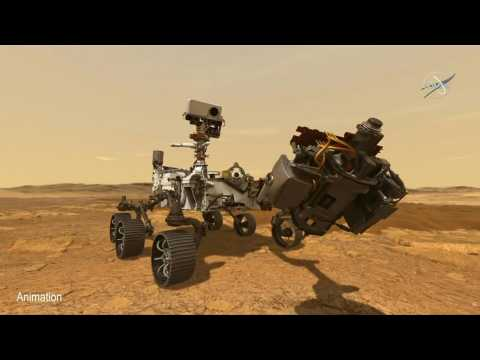 Mars rover collects first rock samples, with early signs of ancient life