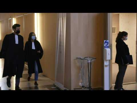 13 November: court arrivals on fourth day of Paris attacks trial