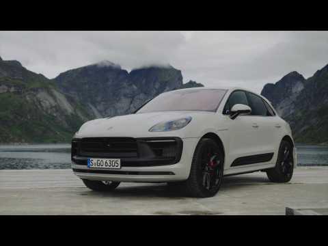 The new Porsche Macan GTS Design Preview in Crayon