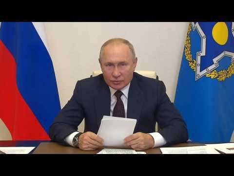 Putin says 'several dozen' people in his circle have coronavirus