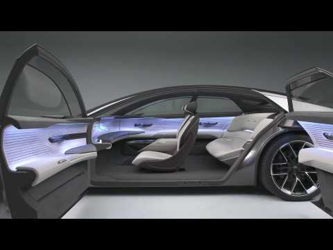 The new Audi grandsphere concept Interior Design in Studio