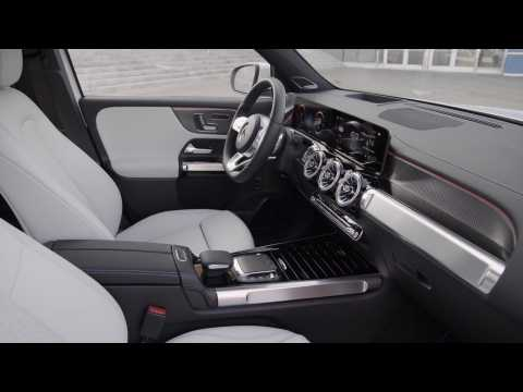 The new Mercedes-Benz EQB EDITION 1 Interior Design