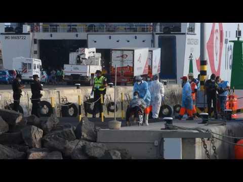 Authorities rescue 47 migrants off Spanish coast
