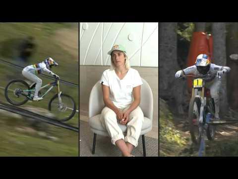 'Fear keeps me going,' says Mountain Bike World Champion Myriam Nicole