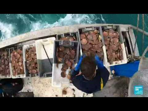 France condemns 'unacceptable' post-Brexit fishing moves by UK