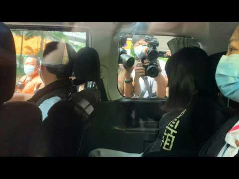Hong Kong police arrest organisers of Tiananmen vigils
