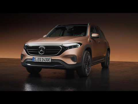The new Mercedes-Benz EQB Design Preview in Studio