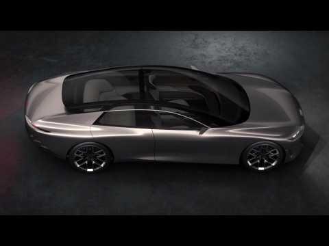 Exterior design of the Audi grandsphere concept