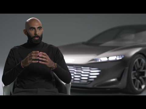 The new Audi grandsphere concept - Interview Amar Vaya
