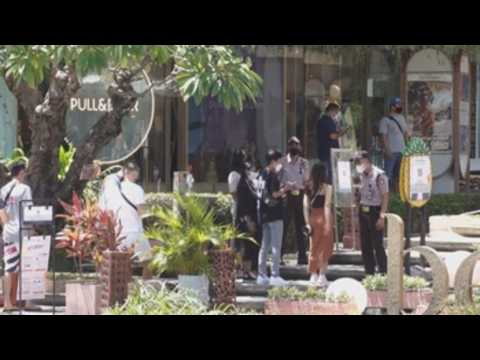 Malls reopen as Bali govt eases some Covid restrictions