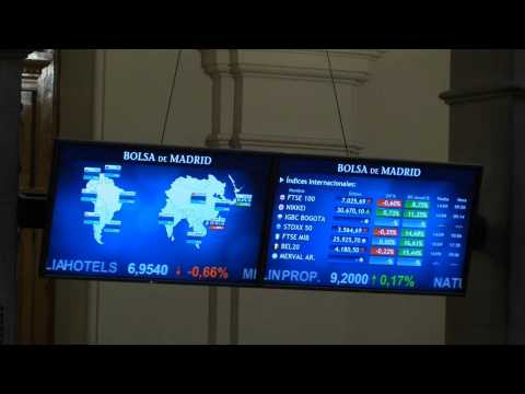 Spanish stock market falls 0.19% after the opening pending inflation
