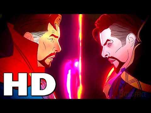 """WHAT IF...? """"Dr Strange VS Dr Strange"""" Trailer (2021) Animated Series"""