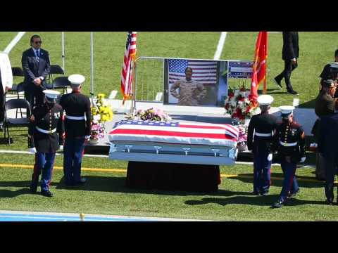 Public wake in honor of Marine sargeant killed in Kabul