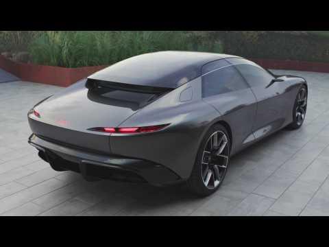 The new Audi grandsphere concept Exterior Design