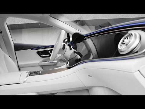 The new Mercedes-Benz EQE 350 Interior Design
