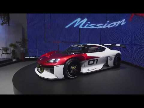 Highlights of the world premiere of the Porsche Mission R