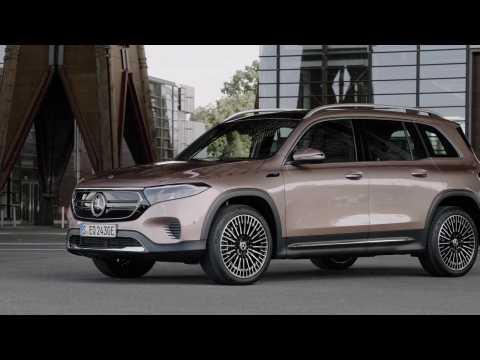 The new Mercedes-Benz EQB Design Preview