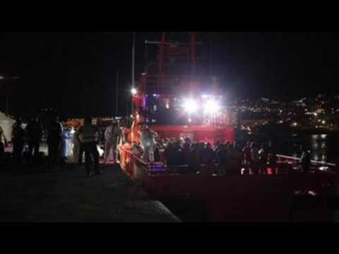 Authorities rescue 41 migrants off Spanish coast