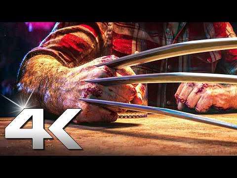 WOLVERINE Trailer 4K (2021) PS5