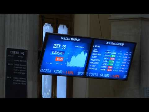 Spanish Stock Market falls 0.43% and maintains 8,800 points after ECB meeting
