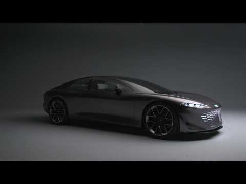 The new Audi grandsphere concept Design Preview in Studio