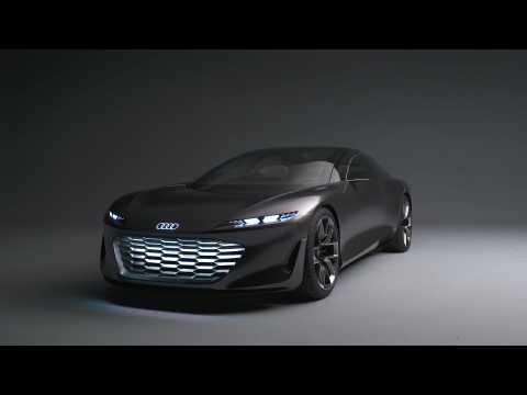 The design of the Audi grandsphere concept