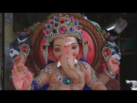 Hindu devotees celebrate Ganesha Chaturthi in Mumbai
