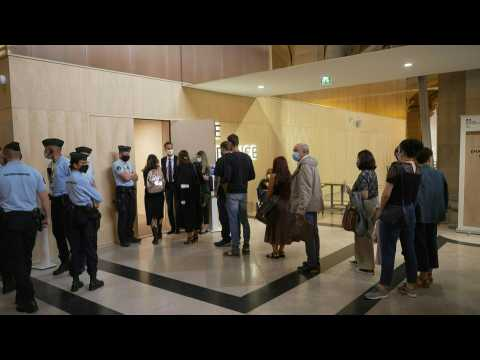 13 November: court arrivals on third day of Paris attacks trial
