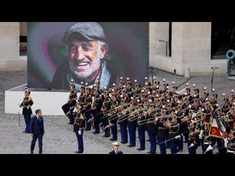 France says goodbye to iconic New Wave actor Jean-Paul Belmondo in national tribute