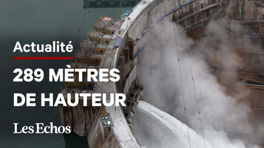 Illustration pour la vidéo La Chine démarre la 2e plus grosse centrale hydroélectrique du monde
